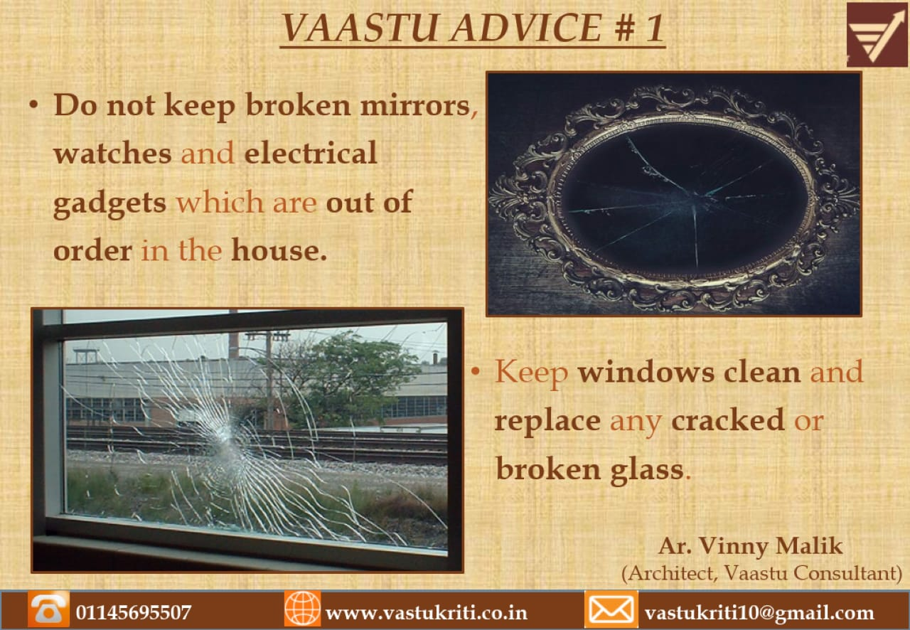 Vaastu Advice # 1